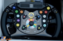 A Steering Wheel for the Lotus F1 Team E22