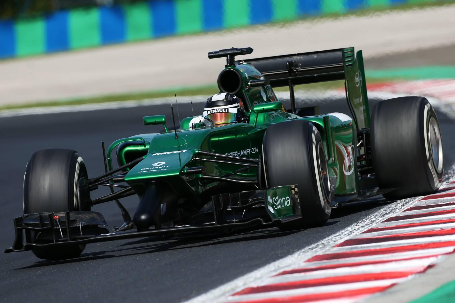 Caterham F1 Teams Background 2