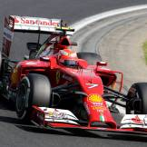 Kimi Raïkkönen, Scuderia Ferrari, F14 T