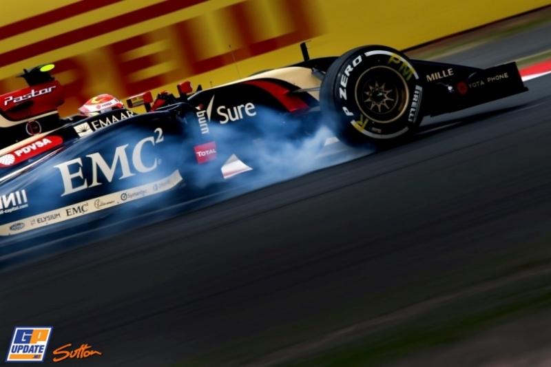 Pastor Maldonado, Lotus F1 Team, E22