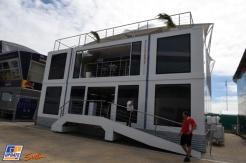 The Williams F1 Team Motorhome