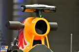 A detail of the Red Bull Racing RB10