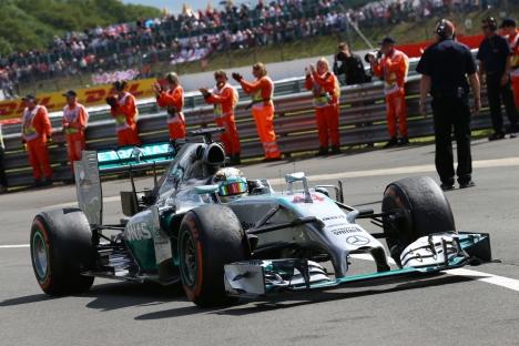 Standings British Grand Prix of 2014
