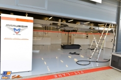 A Pit Box for Marussia F1 Team