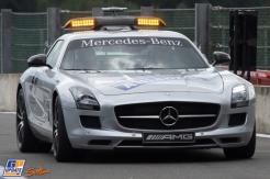 The FIA Mercedes-Benz AMG Safety Car