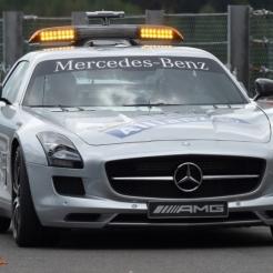 The FIA Mercedes-Benz AMG Safety Car