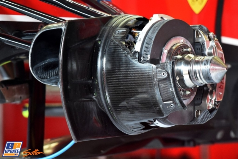 Detail of the Scuderia Ferrari F14 T