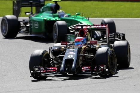 Standings Belgian Grand Prix of 2014