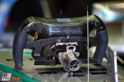 A Steering Wheel for the Mercedes F1 Team F1 W05