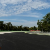 The exit of Curva Parabolica