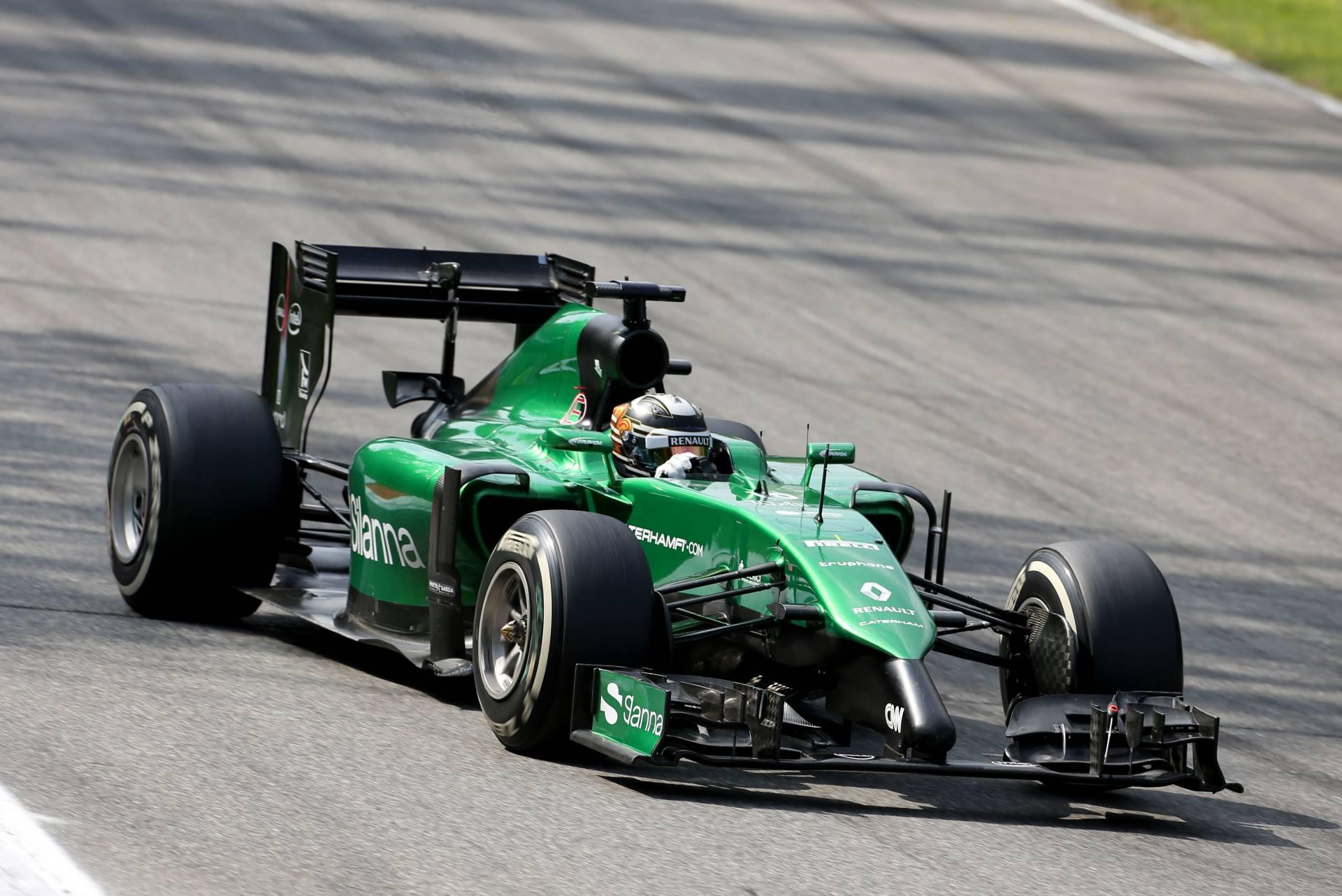 Caterham F1 Teams Background 6