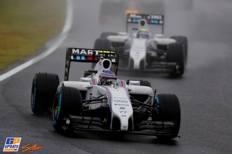 Valtteri Bottas and Felipe Massa, Williams F1 Team, FW36