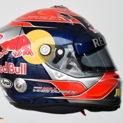 The Helmet for Max Verstappen, Scuderia Toro Rosso