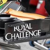 Front Wing End Plate for the Force India F1 Team VJM07