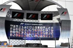The Podium for Sochi Autodrom
