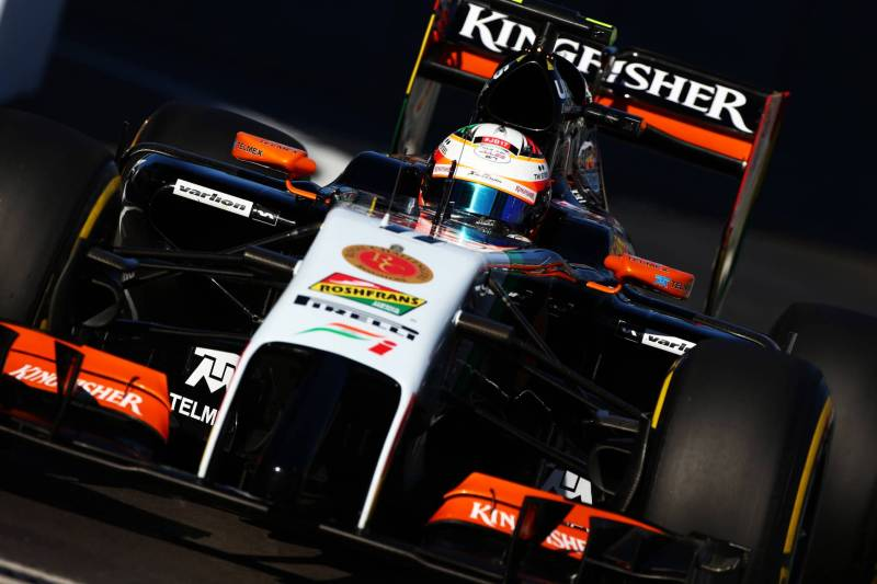 Sergio Peréz, Force India F1 Team, VJM07