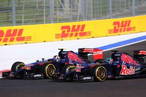 Standings Russian Grand Prix of 2014