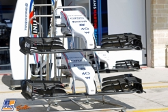 Front Wings and Engine Cover for the Williams F1 Team FW36