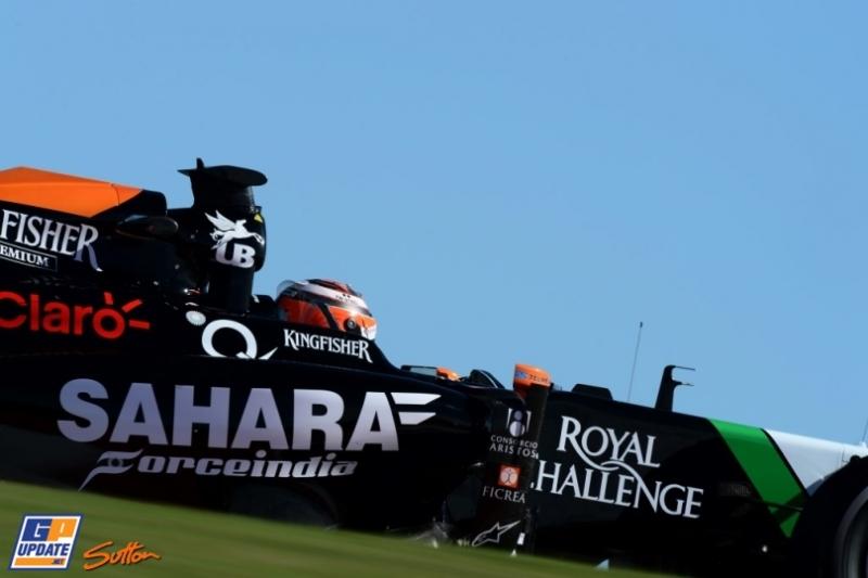Nico Hülkenberg, Force India F1 Team, VJM07