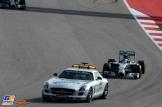Nico Rosberg (Mercedes AMG F1 Team, F1 W05) behind The Safety Car