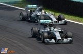 Nico Rosberg and Lewis Hamilton, Mercedes AMG F1 Team, F1 w05