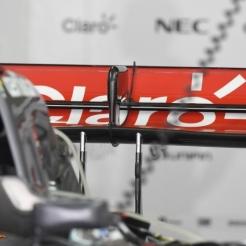 Detail of the McLaren Mercedes MP4-29
