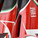 Detail of the Engine Cover for the Scuderia Ferrari F14 T