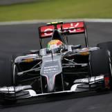 Esteban Gutiérrez, Sauber F1 Team, C33