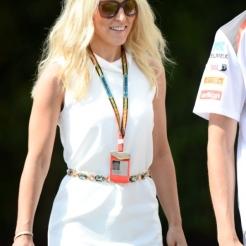 Jennifer Becks, the Girlfriend of Adrian Sutil