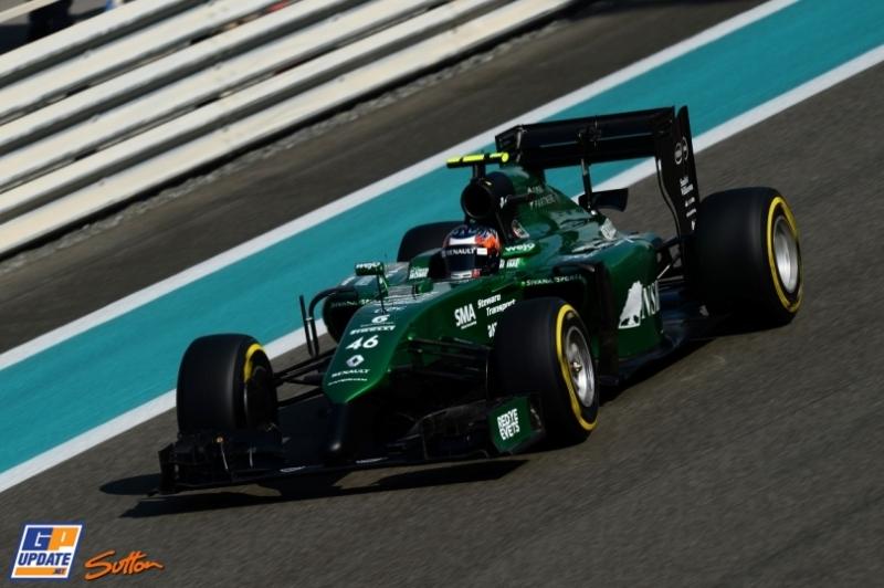 Will Stevens, Caterham F1 Team, CT04
