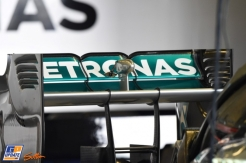 A Rear Wing for the Mercedes AMG F1 Team F1 W05