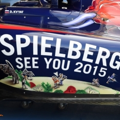 A Detail of the Scuderia Toro Rosso STR9
