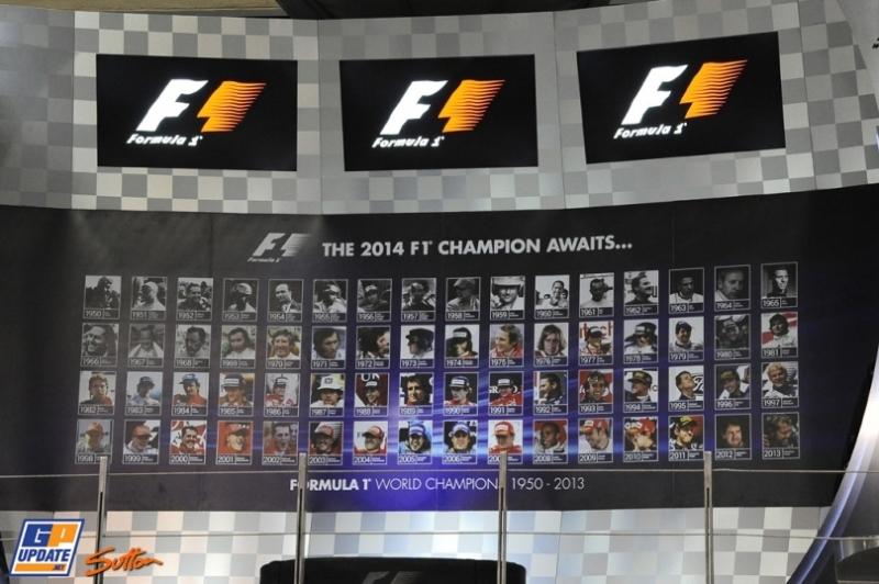The Podium at the Yas Marina Circuit
