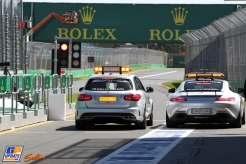 The New FIA Safety and Medical Cars from Mercedes-Benz