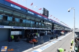 The Pit Lane for the Melbourne Grand Prix Circuit