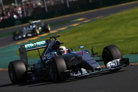 Standings Australian Grand Prix of 2015
