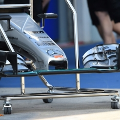 Front Wing for the Mercedes AMG F1 Team F1 W06 Hybrid