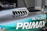 A Sidepod for the Mercedes AMG F1 Team F1 W06 Hybrid