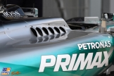 A Sidepod for the Mercedes AMG F1 Team F1 W06 Hybrid