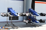 Front Wings for the Sauber F1 Team C34