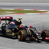 Pastor Maldonado, Lotus F1 Team, E23 Hybrid