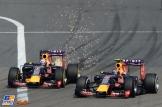 Daniel Ricciardo and Daniil Kvyat, Red Bull Racing, RB11