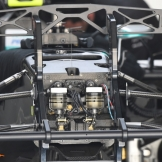 A Detail of Front Wheel Suspension