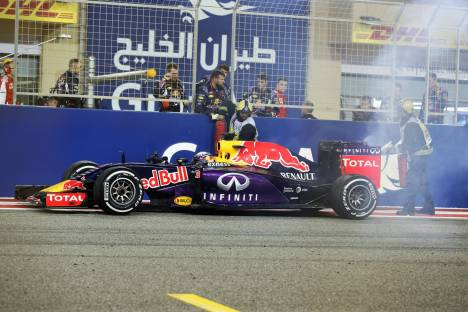 Standings Bahrain Grand Prix of 2015