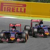 Max Verstappen and Carlos Sainz Jr., Scuderia Toro Rosso, STR10
