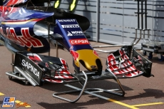 Body Work and Front Wing for the Scuderia Toro Rosso STR10