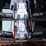 Front Wings for the Williams F1 Team FW34