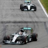 Lewis Hamilton and Nico Rosberg, Mercedes AMG F1 Team, F1 W06 Hybrid