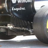 Detail of the Williams F1 Team FW37