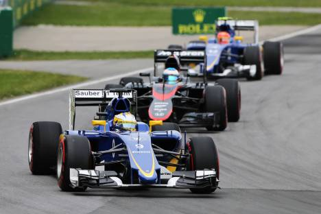 Standings Canadian Grand Prix of 2015